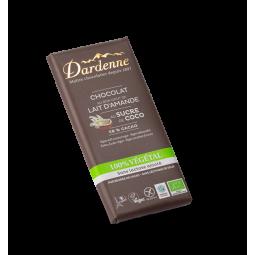Chocolat lait amande sucre coco - 100g