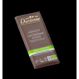 Chocolat lait 100% végétal - 100g