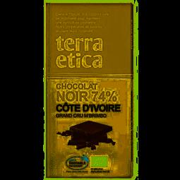 Chocolat noir 74% Côte d'Ivoire - 100g