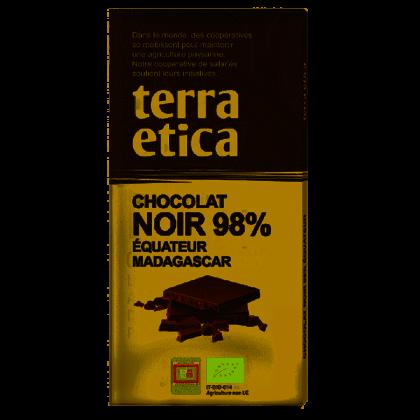 Chocolat noir 98% Equateur - 100g