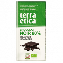 Chocolat noir 80% Equateur Nicaragua - 100g