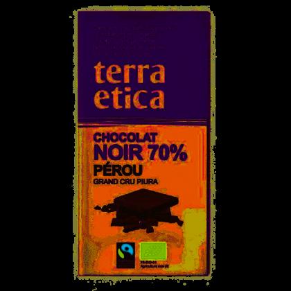 Chocolat noir 70% Pérou - 100g