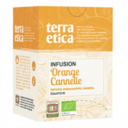 Infusion orange cannelle - 20 sachets