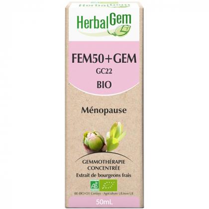 Fem50+gem - Complexe de bourgeons 50ml