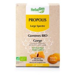 Gommes de Propolis large spectre