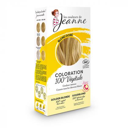 Coloration blond doré - 2x50g