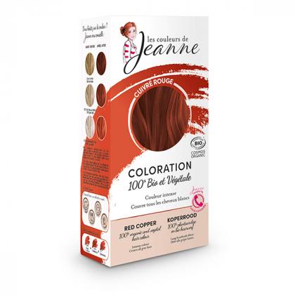 Coloration cuivre rouge - 2x50g