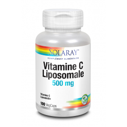 Vitamines C liposomale 500mg - 100 capsules