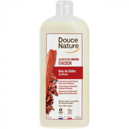 Shampooing Douche Relaxant Bio 1L DOUCE NATURE