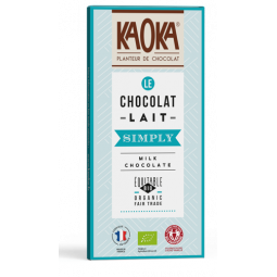 Chocolat au lait simply - 80g