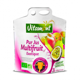 Pur jus multrifruit exotique - 3L