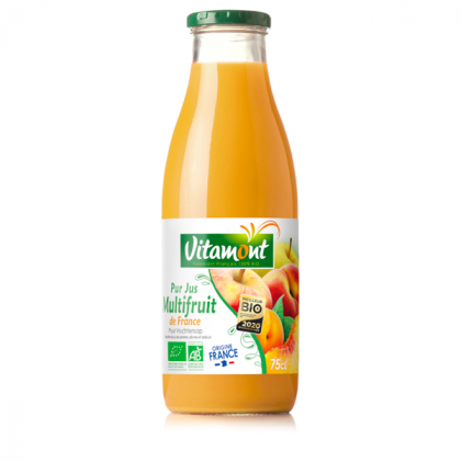 Pur jus 3 fruits - 75cl