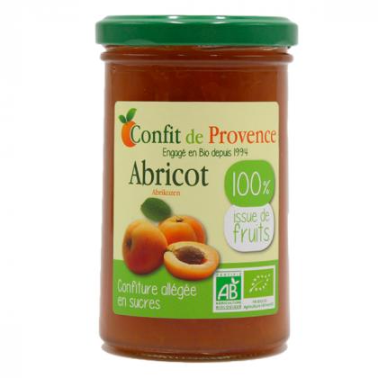 Confiture 100% fruits abricot - 290g