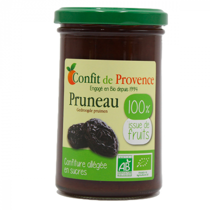 Confiture 100% fruits pruneau - 290g