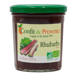 Confiture extra rhubarbe - 370g