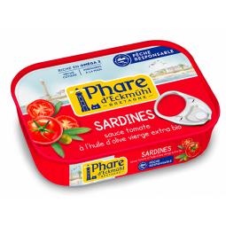 Sardines tomate et huile d'olive - 135g