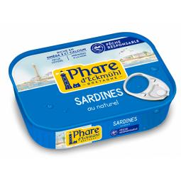 Sardines au naturel - 135g