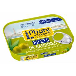 Filets de sardines huile d'olive - 100g