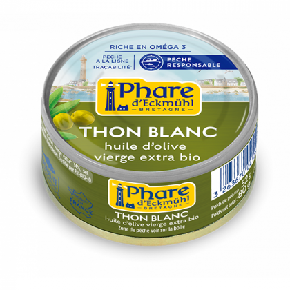 Thon blanc huile d'olive - 80g