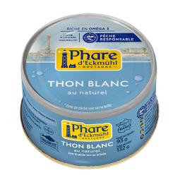 Thon blanc au naturel - 132g