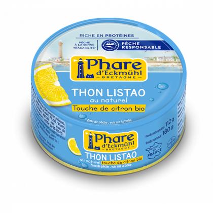 Thon listao citron - 160g