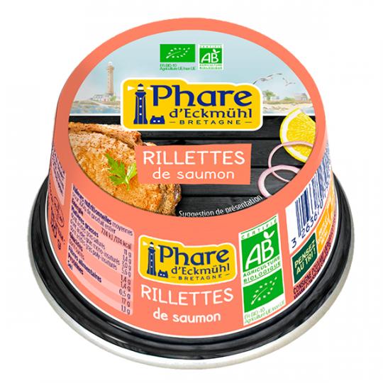 Rillettes de saumon - 120g