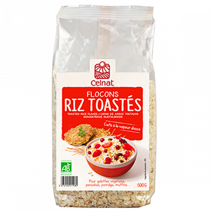 Flocons de riz toastés - 500g