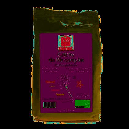Crème de riz complet - 250g