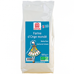 Farine d'orge mondé - 500g