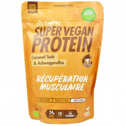 Super vegan protéine caramel sale ashwaga