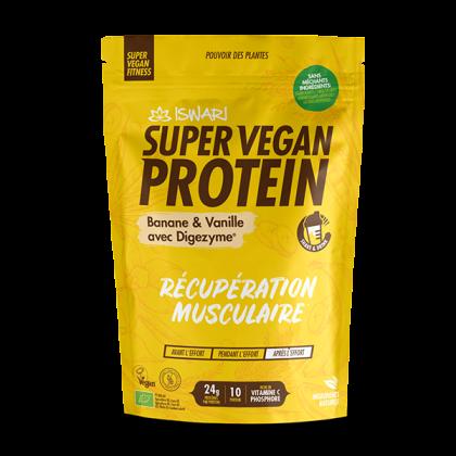 Super vegan protéine banane vanille - 350g