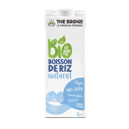 Boisson de Riz Nature 1L - The Bridge