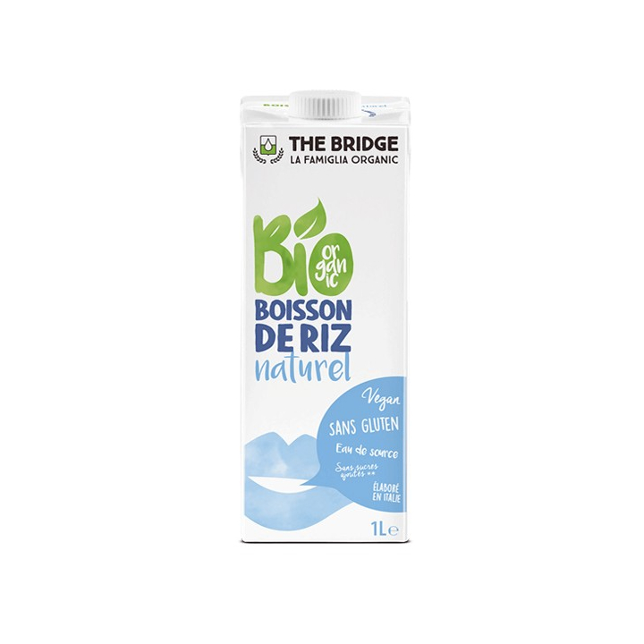 Boisson de Riz Nature 1L - The Bridge