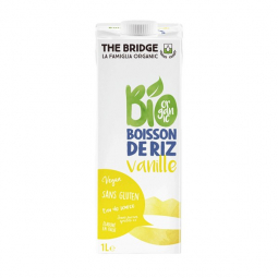 Boisson de Riz Vanille - 1L - The Bridge