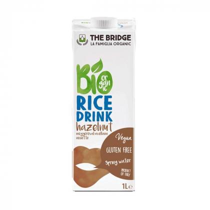 Boisson de riz et noisette - 1L - The Bridge