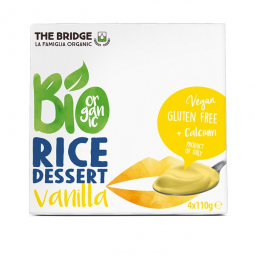 Dessert de riz vanille - 4x110g - The Bridge