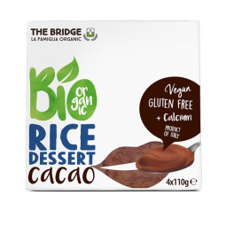 Dessert de riz cacao - 4x110g - The Bridge