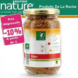 Pollen Multifloral Bio 125g BOUTIQUE NATURE - Belvibio à partir de 3 -10%