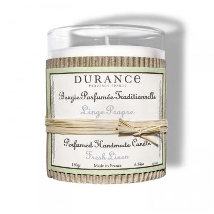 Bougie parfumée - Linge propre - 180g