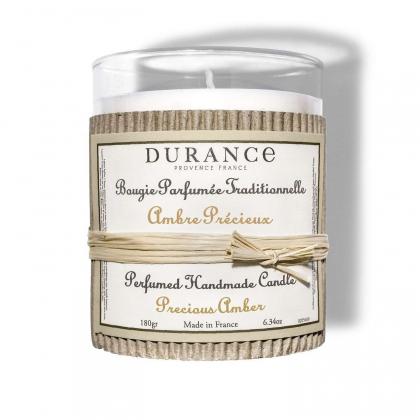Bougie parfumée - Ambre précieux - 180g