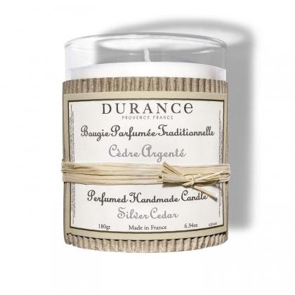 Bougie parfumée - Cèdre argenté - 180g