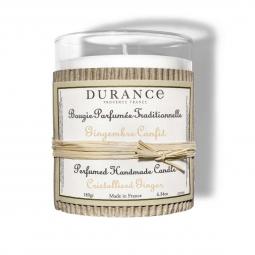 Bougie parfumée - Gingembre confit - 180g