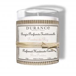 Bougie parfumée - Poudre de riz - 180g