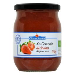 Compote de fraises allégée - 540g