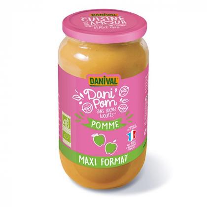Dani'pom - Compote de pommes - 1.05kg