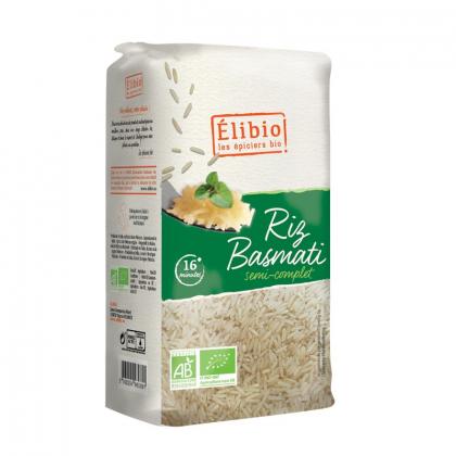Riz Basmati demi complet - 1kg