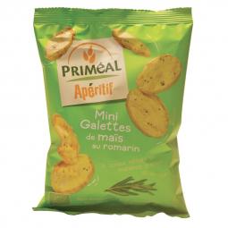 Mini galettes de maïs romarin - 50g
