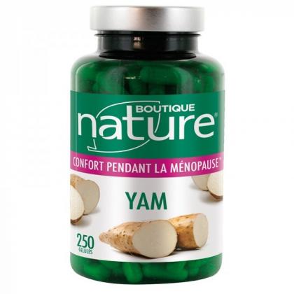 Yam 250 Gélules BOUTIQUE NATURE