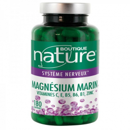 Magnésium marin 180 Comprimés BOUTIQUE NATURE