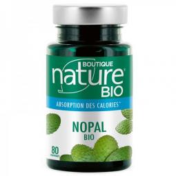 Nopal Bio 80 Comprimés BOUTIQUE NATURE